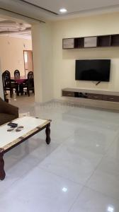 Gallery Cover Image of 2000 Sq.ft 3 BHK Apartment for rent in Shree Kamala Avenue by Shree Rudhra Infra, Jubilee Hills for 50000