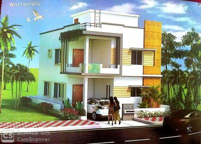 Gallery Cover Image of 2400 Sq.ft 3 BHK Villa for buy in Mallampet for 10800000