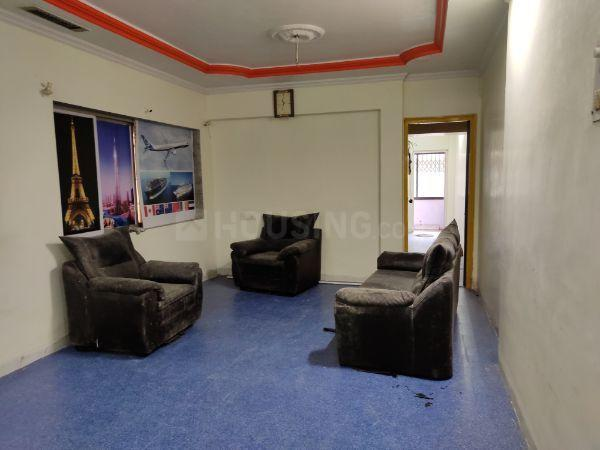 Living Room Image of 1050 Sq.ft 3 BHK Apartment for rent in Thane West for 28000
