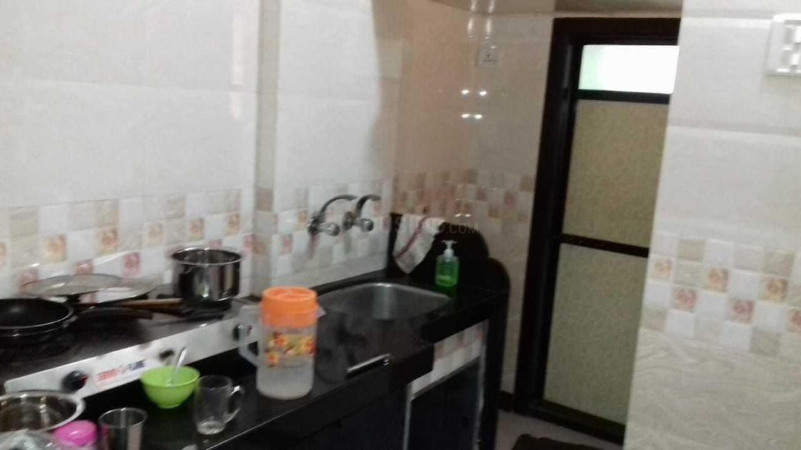 Kitchen Image of 256 Sq.ft 1 RK Apartment for rent in Vikhroli East for 13000