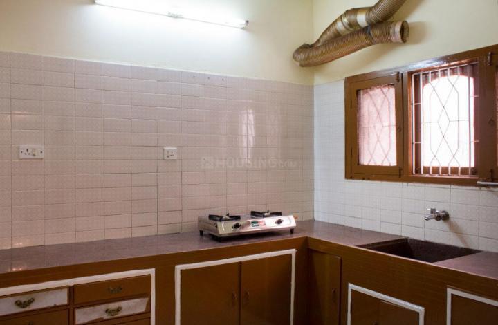 होरामवु में प्रशांति नेस्ट के किचन की तस्वीर