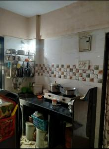 Kitchen Image of 640 Sq.ft 1 BHK Apartment for buy in Nalasopara West for 1800000