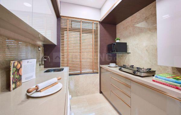 Kitchen Image of 580 Sq.ft 1 BHK Apartment for buy in MS H2O, Santacruz East for 15500000