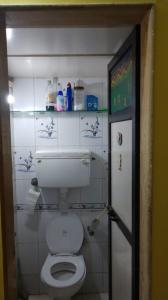 Bathroom Image of Opp Cafe Coffee Day Carter Rd Near Sea Shore Sharing Accommodation For Boys in Bandra West