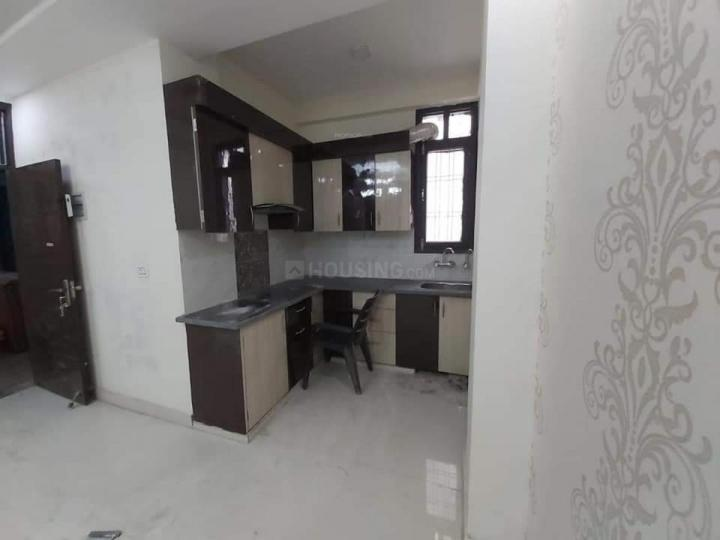 Kitchen Image of 1050 Sq.ft 3 BHK Independent Floor for buy in Sector 15 for 6800000