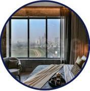 Gallery Cover Image of 1640 Sq.ft 3 BHK Apartment for buy in Nirman Excaliber, Worli for 69900000