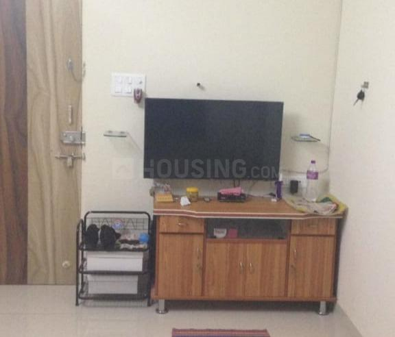 Living Room Image of 600 Sq.ft 1 BHK Apartment for rent in Greater Khanda for 11000