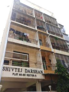 Gallery Cover Image of 450 Sq.ft 1 BHK Apartment for rent in Shivtej Darshan, Kopar Khairane for 18000