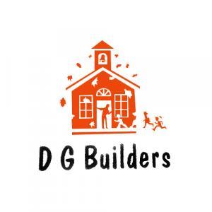 D G Builders logo