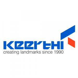 Keerthi Estates logo