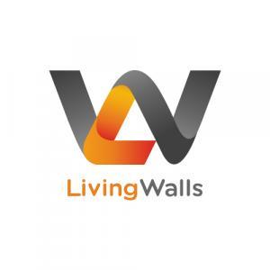 Living Walls logo