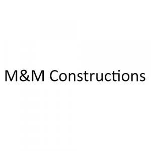 M&M Constructions logo