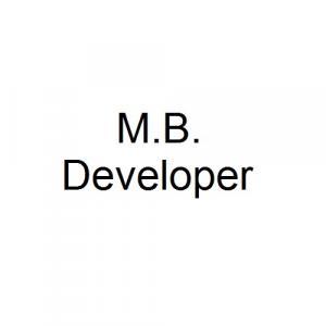 M.B. Developer logo