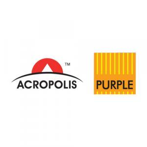 Acropolis Purple Developers logo