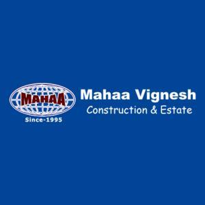 Mahaa Vignesh Construction & Estates logo