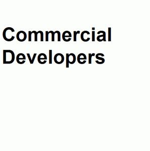 Commercial Developers logo