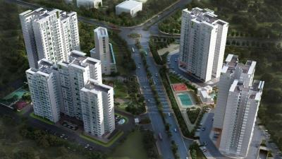 Gallery Cover Image of 1000 Sq.ft 2 BHK Apartment for buy in TCG The Crown Greens, Hinjewadi for 7000000