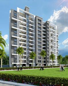 Gallery Cover Image of 557 Sq.ft 1 BHK Apartment for rent in Majestique Aqua Phase I, Fursungi for 8000