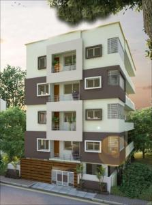Gallery Cover Image of 1058 Sq.ft 2 BHK Apartment for buy in SLV Pride, Chikkalasandra for 4830000