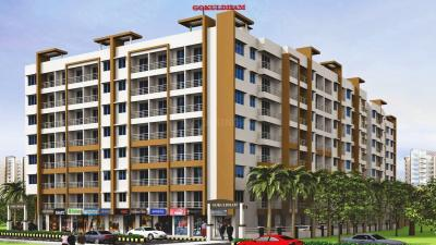 Gallery Cover Image of 875 Sq.ft 1 BHK Apartment for buy in Gokuldham, Dombivli East for 4375000