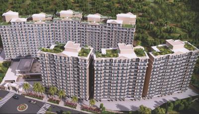 Gallery Cover Image of 900 Sq.ft 1 RK Apartment for rent in JK Iris Mira Road East 2nd Phase, Mira Road East for 12000
