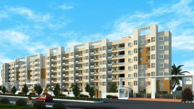Gallery Cover Image of 1250 Sq.ft 2 BHK Apartment for rent in Nester Harmony, Mahadevapura for 22000