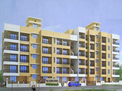 Gallery Cover Image of 690 Sq.ft 1 BHK Apartment for buy in Dham, Badlapur East for 2900000