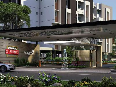 Gallery Cover Image of 1277 Sq.ft 3 BHK Apartment for buy in Casagrand Supremus, Semmancheri for 5816000