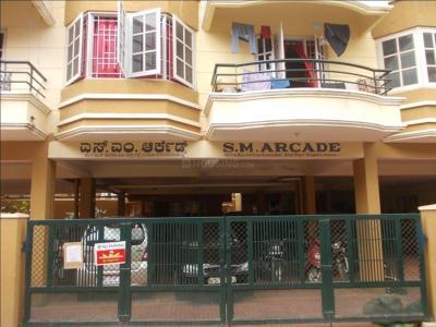 Gallery Cover Image of 1000 Sq.ft 2 BHK Apartment for rent in SM Arcade, Mahadevapura for 15000