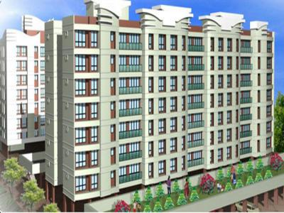 Gallery Cover Image of 635 Sq.ft 1 BHK Apartment for buy in Aakash Gagan Dream, Vasai East for 3700000