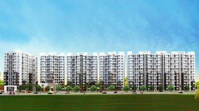 Gallery Cover Image of 625 Sq.ft 1 BHK Apartment for rent in Majestique City, Wagholi for 8000
