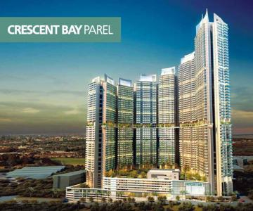 Gallery Cover Image of 1327 Sq.ft 3 BHK Apartment for buy in L&T Crescent Bay T2, Parel for 45500000
