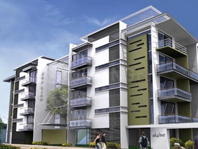 Gallery Cover Image of 3200 Sq.ft 3 BHK Apartment for rent in Skyline Eternity, Shanti Nagar for 125000