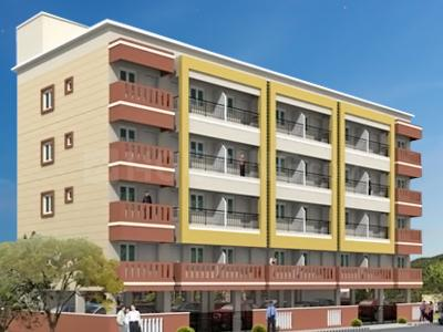 Gallery Cover Image of 396 Sq.ft 1 BHK Independent House for rent in MVS Nest, Reliaable Tranquil Layout for 10000