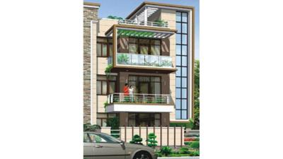 Gallery Cover Image of 1100 Sq.ft 2 BHK Independent Floor for buy in Ansal Sushant Residency, Sector 56 for 6000000