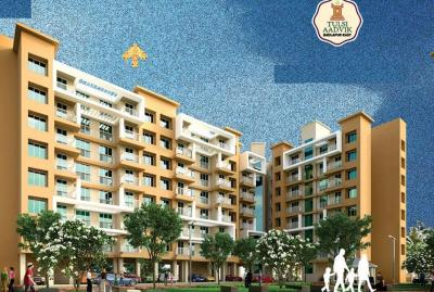 Gallery Cover Image of 430 Sq.ft 1 BHK Apartment for rent in Tulsi Aadvik, Badlapur East for 10000