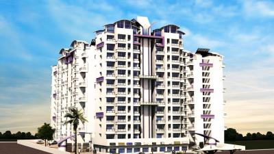 Gallery Cover Image of 700 Sq.ft 1 BHK Apartment for rent in Happy Home Sarvodaya Leela, Mhatre Nagar for 5500