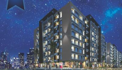Gallery Cover Image of 720 Sq.ft 1 BHK Apartment for rent in Thakur Galaxy, Ulwe for 8500