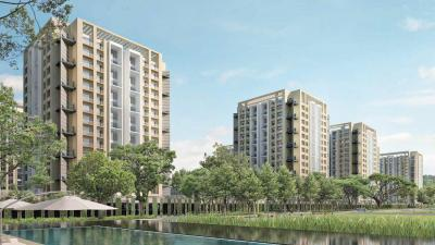 Gallery Cover Image of 1100 Sq.ft 2 BHK Apartment for rent in Skyi Manas Lake Phase II, Bhugaon for 12000