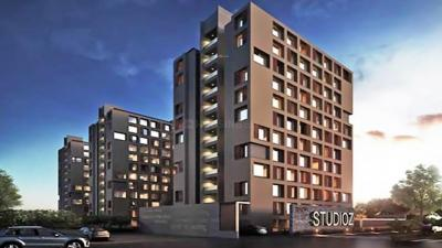 Gallery Cover Image of 630 Sq.ft 1 RK Apartment for buy in Savvy Studioz, Gota for 2350000