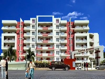 Gallery Cover Image of 1170 Sq.ft 3 BHK Apartment for buy in Ikon Bhagirathi Kanha Greens, Bawaria Kalan for 3500000