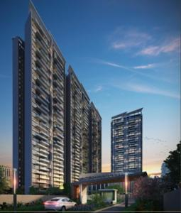 Gallery Cover Image of 2517 Sq.ft 4 BHK Apartment for buy in Kasturi The Balmoral Riverside, Baner for 26500000