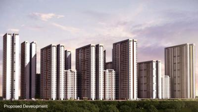Gallery Cover Image of 1375 Sq.ft 3 BHK Apartment for rent in Tata Amantra, Bhiwandi for 15000