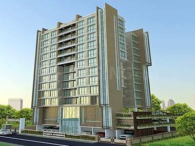 Gallery Cover Image of 860 Sq.ft 2 BHK Apartment for buy in AP Valencia, Santacruz West for 36500000