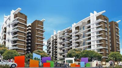 Gallery Cover Image of 1250 Sq.ft 3 BHK Apartment for buy in Tirupati Kashi Ganga, Dhanori for 9500000