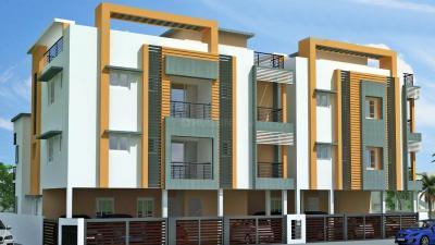 Gallery Cover Image of 1250 Sq.ft 3 BHK Apartment for rent in Sri Srinivasaa SM Adhvika, Medavakkam for 15000