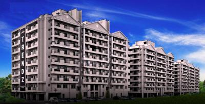 Gallery Cover Image of 1221 Sq.ft 3 BHK Apartment for buy in Trendz Whispering Woods, Deepanagar for 4400000