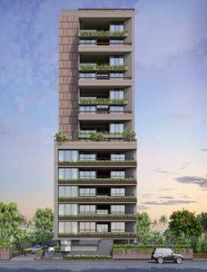 Gallery Cover Image of 6080 Sq.ft 4 BHK Independent Floor for buy in Sun Evoq, Bodakdev for 70000000
