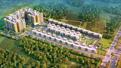 Gallery Cover Image of 1334 Sq.ft 3 BHK Apartment for buy in Mantra Happy Homes, BHEL Township for 3400000