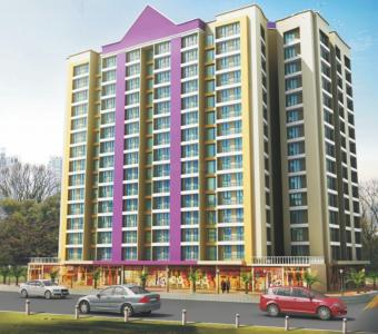 Gallery Cover Image of 610 Sq.ft 1 BHK Apartment for rent in Rashmi Housing Pink City Phase I, Naigaon East for 6500